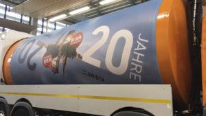 DDrehtrommel-Müllwagen